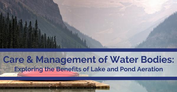 Lake and Pond Aeration benefits